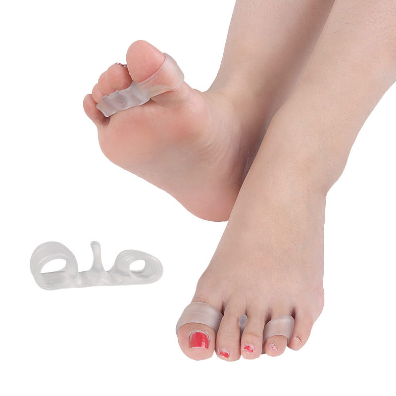 1Pair Original ToePal Toe Separators and Toe Streightener for Relaxing Toes Bunion Relief Hammer Toe and more for Women and Men