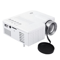 UC28A Мини Портативный светодиодный проектор 1080 P Мультимедийный Домашний кинотеатр USB TF HDMI AV светодиодный проектор для домашнего использован...