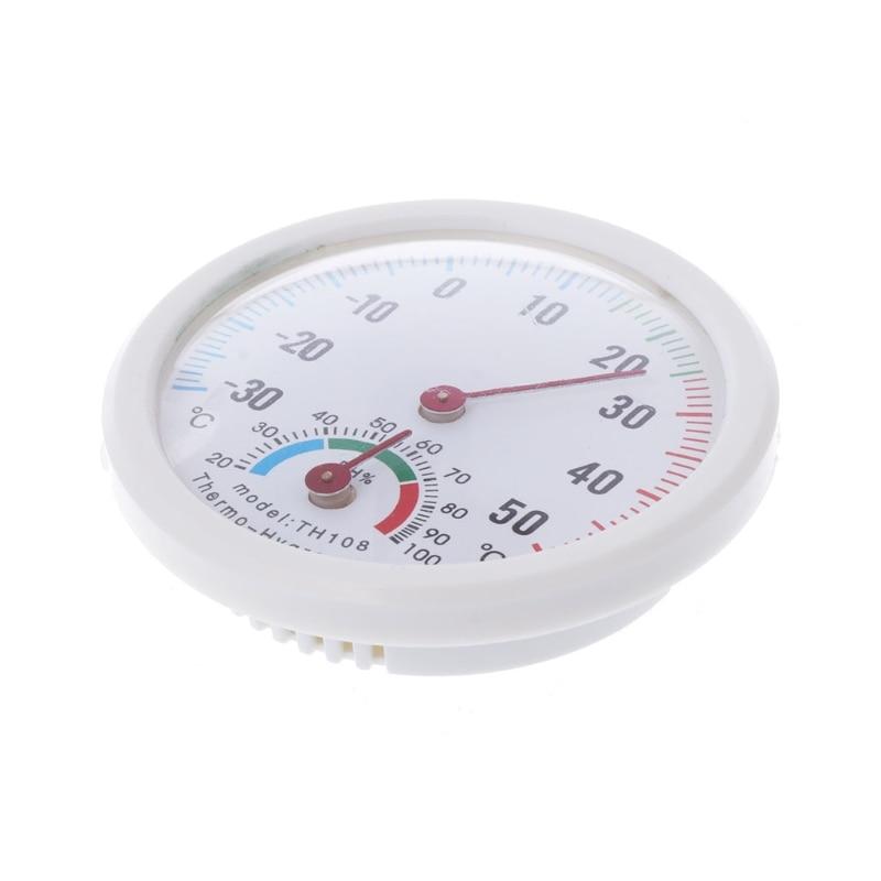 Apvalus lauke esantis drėgno drėgmės termometras Higrometras Temperatūra Temp New S08 Wholesale & DropShip