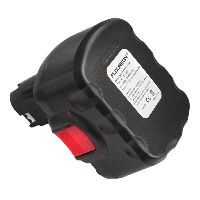 Batterie pour Bosch 12v 3000 MAH NI-MH AEC 12ve-2//GSR 12ve-2//GSR 12v