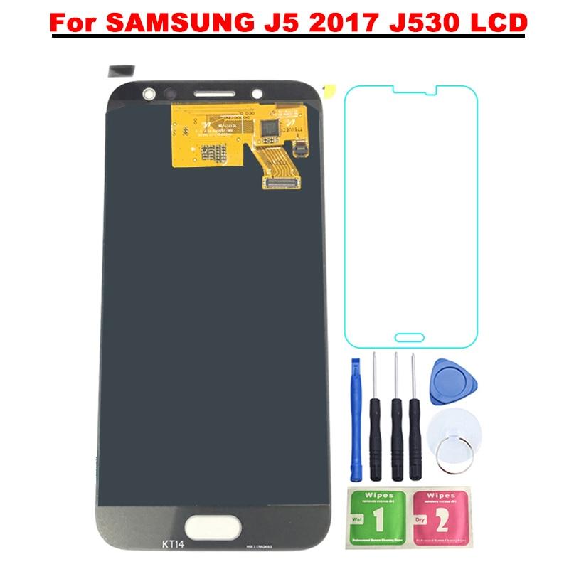5.2 ''Super AMOLED LCD Pour SAMSUNG Galaxy J5 2017 LCD J530 J530F LCD Affichage à L'écran Tactile Digitizer Assemblée