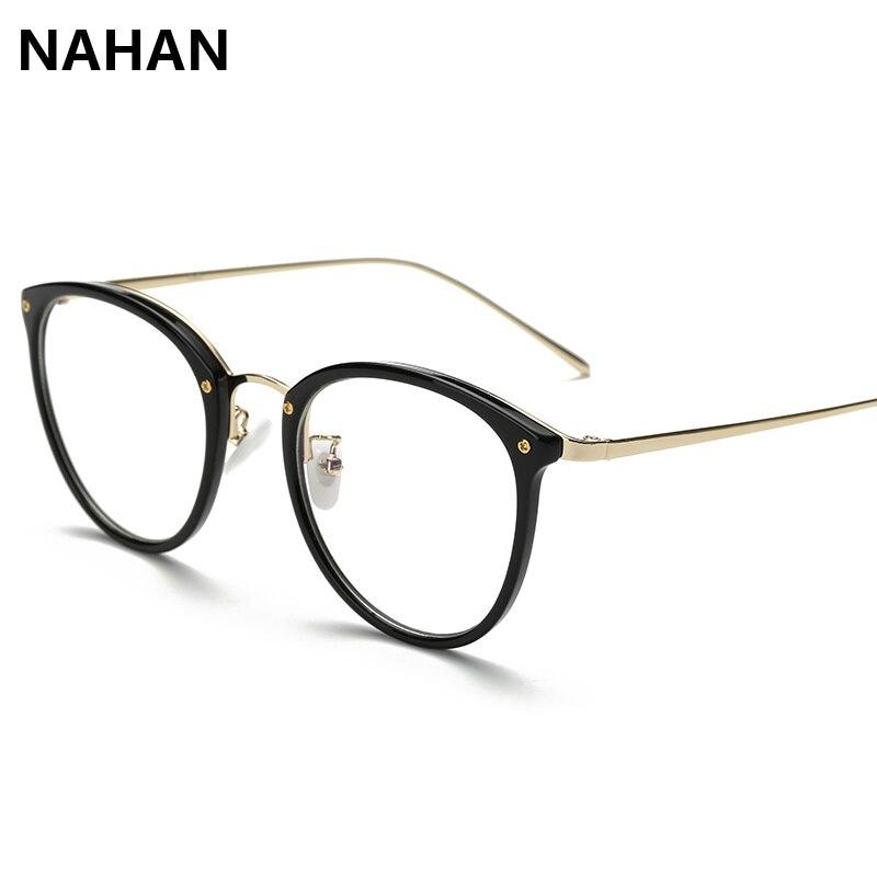 NAHAN Marke TR90 Runde Brillen Rahmen Brillen Rahmen für Frauen ...