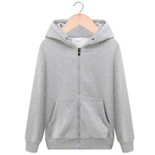 Hoodie Pure color Sweatshirts Zipper hoodies men's role models women's role models wear their own personality Pure color hoodies недорого