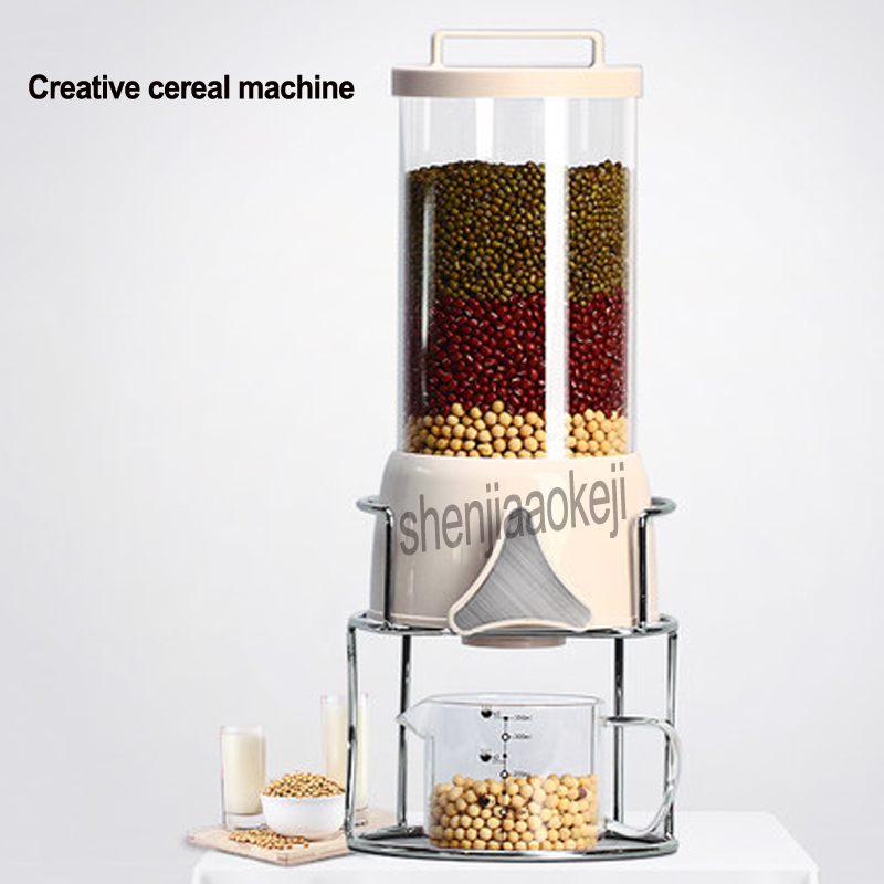 New Commercial Creative Oatmeal Machine FW-50153 Kitchen Grain Dispenser Home Food Cereal Storage Tank grains Sealed Barrel 1.7LNew Commercial Creative Oatmeal Machine FW-50153 Kitchen Grain Dispenser Home Food Cereal Storage Tank grains Sealed Barrel 1.7L