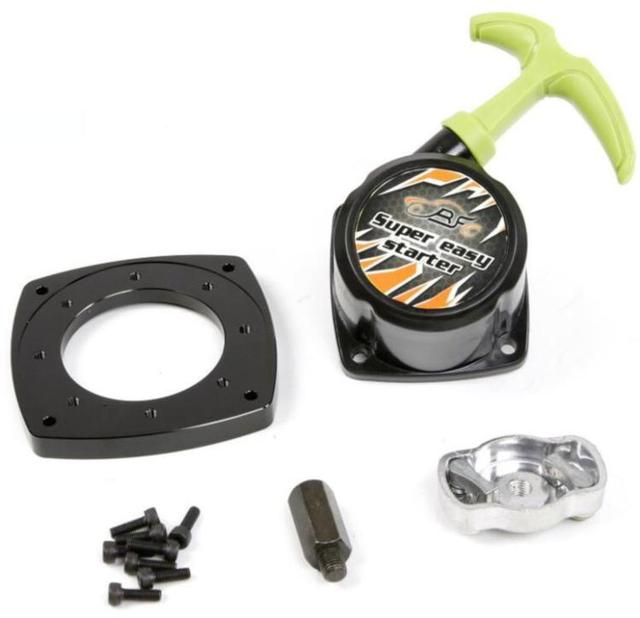 Super easy pull starter for 23cc 26cc 29cc 30.5cc Engine Zenoah CY for 1:5 HPI Rovan KM Baja 5B 5T 5SC