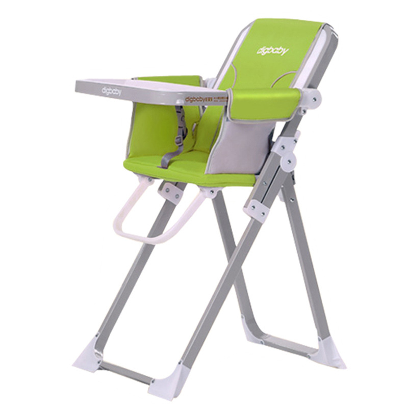 Multi-functional Children's Dining Chair Can Be Folded To Carry Baby Table