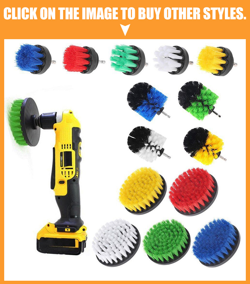 3Pc Power Scrubber Kit