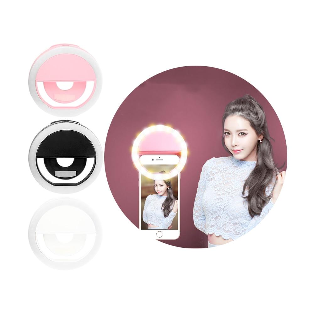 ET Universal Telefon Selfie LED Flash İşıq Universal Cib telefonu - Cib telefonu aksesuarları və hissələri - Fotoqrafiya 6