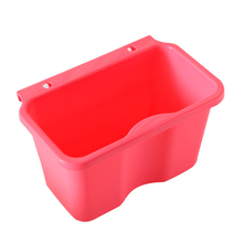 High Quality Square Kitchen Cabinet Simple Mini Trash Storage Box Organizers Garbage Holder Portable Hang Type Garbage Can