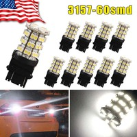 20x Super White 1156 27 SMD RV Camper Trailer LED Interior Light Bulbs 1141 12V car Interior Atmosphere light bulbs License Plat