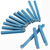 11Pcs Set Carbide Tip Tipped 8 8mm Brazed Cutter Tools Bit Milling Set For Metal Lathe