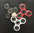 In stock Tri-Spinner Fidget Toy Plastic EDC Hand Spinner For Autism and ADHD Rotation Time Long Anti Stress Toys free dhl 50pcs