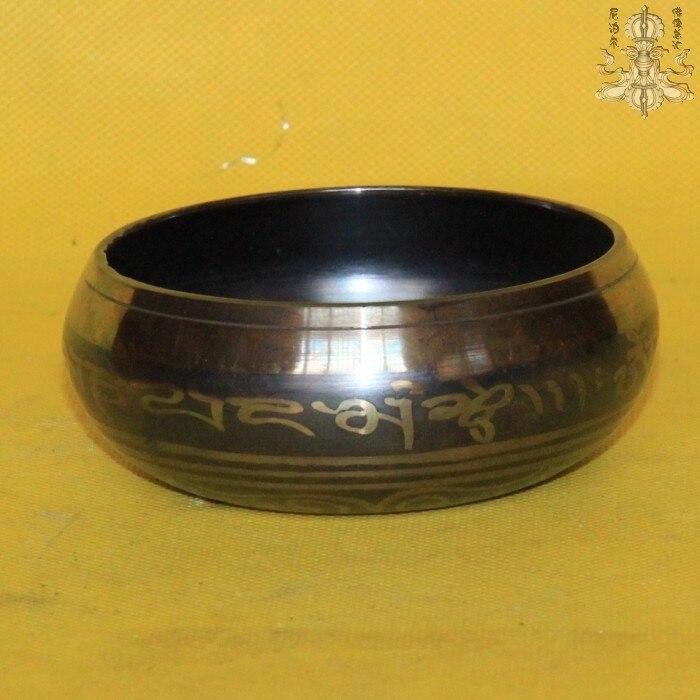 6 Йога Тибет Поющая чаша гималайских руку молотком чакры Медитация Будды чаши античный сад серебряные украшения Латунь