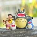 Classic Toys My Neighbor Totoro Figure Studio Ghibli Miyazaki Hayao Shouting Totoro Satsuki Mei Resin Action Figure Model Toy