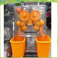 2016 Бесплатная доставка Нержавеющаясталь автоматический медленно электрическая соковыжималка orange сок машины холодный Пресс Extractor фрукты