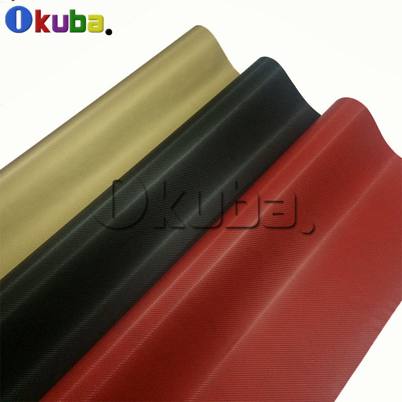 Retail Price Black Gold Red 3d Carbon Fiber Vinyl Wrap for Car Styling Wrapping 1.52 * 30m