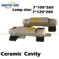 Ceramic Pump Cavity Shell YAG Laser Gold Plated Laser Cavity Laser Accessories Laser Welding Machine Accessories