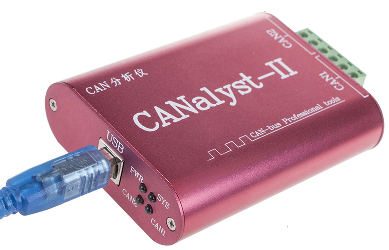 CANalyst-II USB To CAN Analyzer CAN-BUS Converter Adapter Support ZLGCANpro