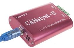 CANalyst-II USB zu KÖNNEN Analysator KANN-BUS Konverter Adapter Unterstützung ZLGCANpro