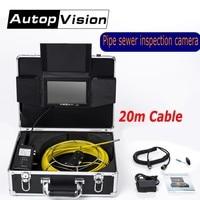 AP70 20 Mt Kanalisation Wasserdichte Videokamera 6 LEDS Drain Kanalinspektion Kamera 7