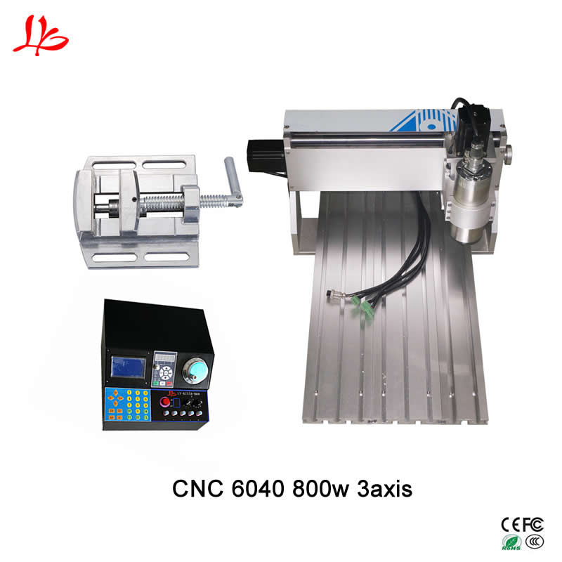 CNC 6040 engraving machine 3axis wood router pcb milling machine mach3 control with handwheel function|Wood Routers| |  - title=