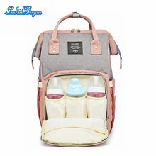 SeckinDogan Diaper Backpack Waterproof Infantil Nursing Backpack Large Capacity Anti-theft Outdoor Travel Baby Bag for Mommy