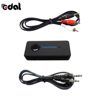 2017 Wireless Bluetooth 3 0 3 5mm Stereo Audio Cable Music Audio Bluetooth Transmitter Receiver Sender