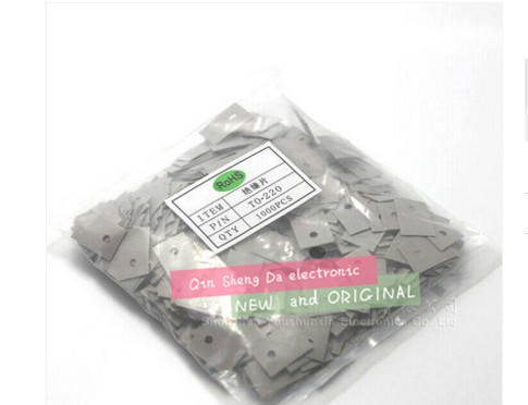 2000 шт./лот TO 220 силиконовый изоляционный лист должен кремний (Si) пластиковый радиатор