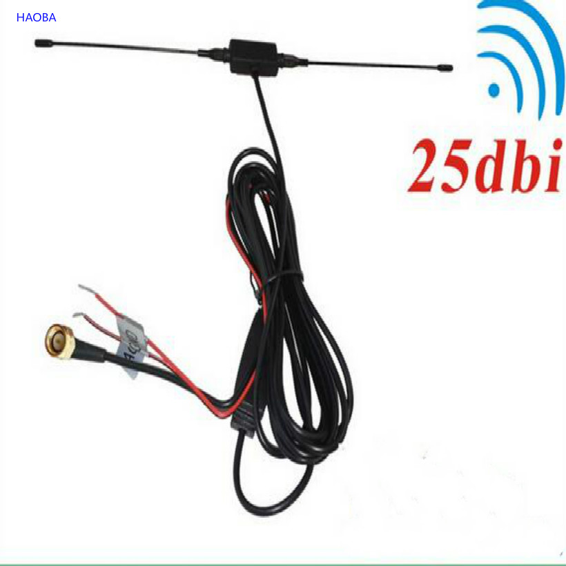 FREE SHIPPING 12v antena electrica car antenna car digital <font><b>tv</b></font> antenna antena <font><b>tv</b></font> digital para <font><b>carro</b></font> SMA HEAD image