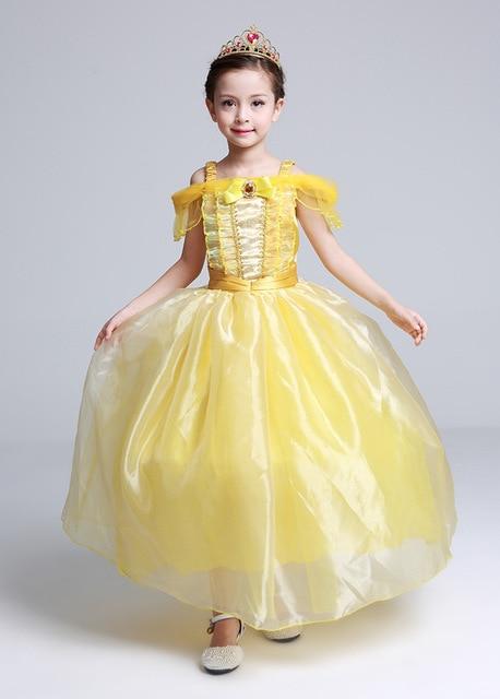 Bien-aimé Belle Enfant En Bas Âge Filles D'été Belle Robes Princesse Costume  XN36