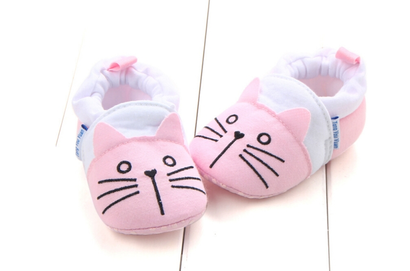 Toddler Infant Baby Girls Boys Solid Soft Sole Prewalker Warm Cotton Cloth Shoes