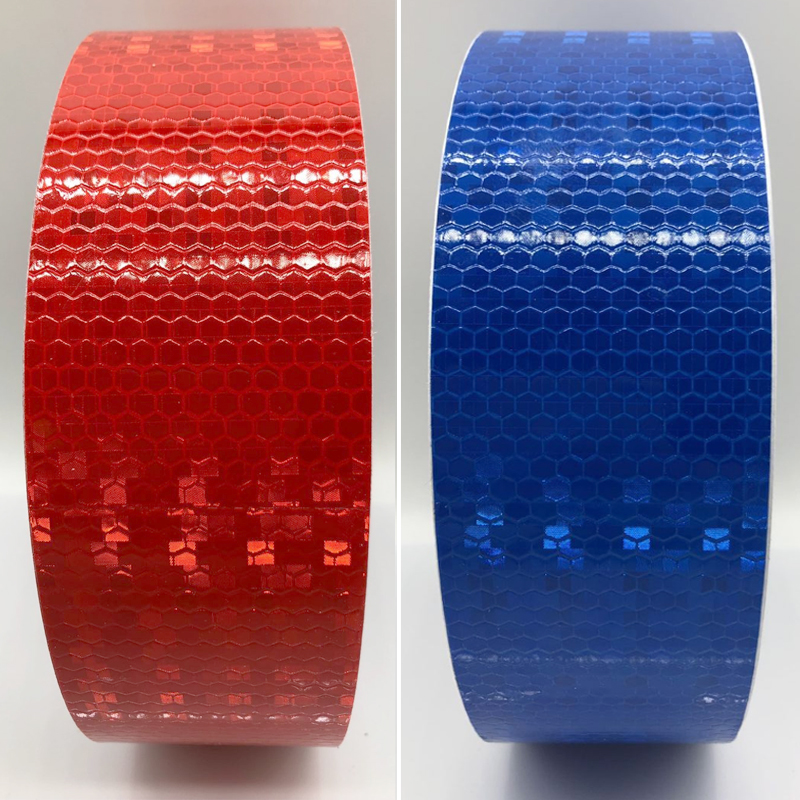5cmx10m Reflective Bicycle Stickers Adhesive Tape for Bike Safety White Red Yellow Blue Bike Stickers Bicycle Accessories 1