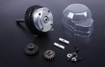 2 Speed metal gear Transmission Kit FOR 1 5 HPI ROVAN KM BAJA 5B 5T 5SC