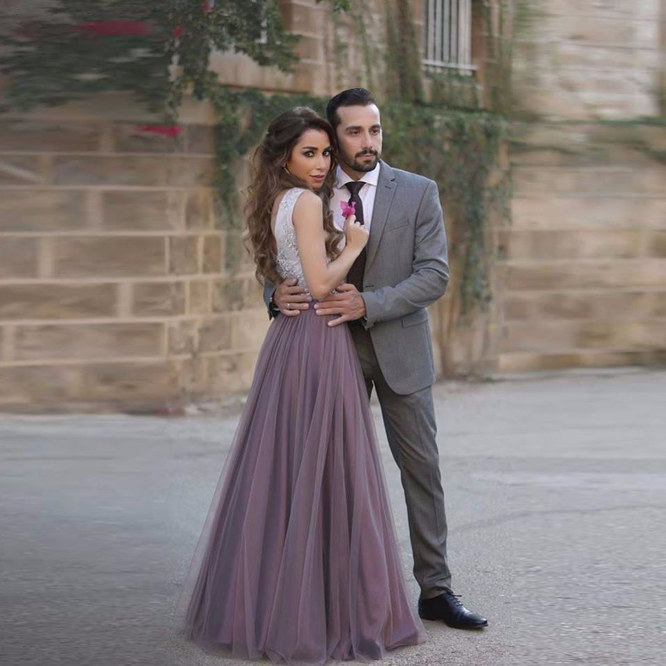 Saudi Arabia Style Women Skirts Custom Made A Line Floor Length Long Skirt Elegant Pleated Dark Purple Full Maxi Tulle Skirts