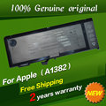 "JIGU Free shipping A1382 Original Laptop Battery For Apple MacBook Pro 15"" A1286 MC721 MC723"