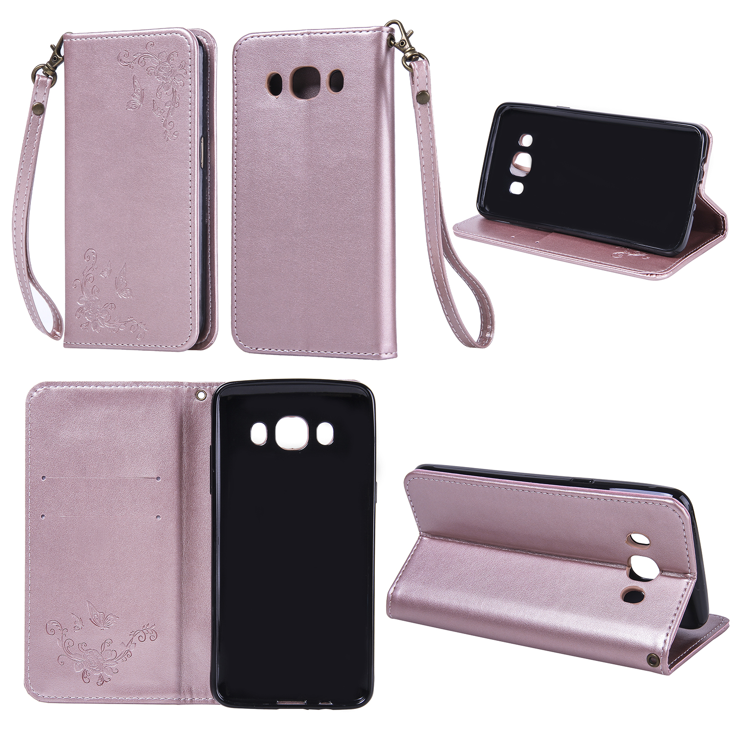 Luxury Retro Leather Wallet Flip Cover For Coque Samsung Galaxy J5 Case J510 J510F SM-J510F Phone Case for Samsung J5 2016 Bag
