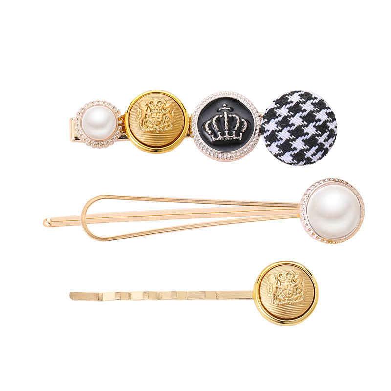 3Pcs/Set Pearl Hair Clips Swallow Gird Women Hairpins Barrette Bobby Pins Hairgrip 2019 Newest Hair Clip For Girls Accessories
