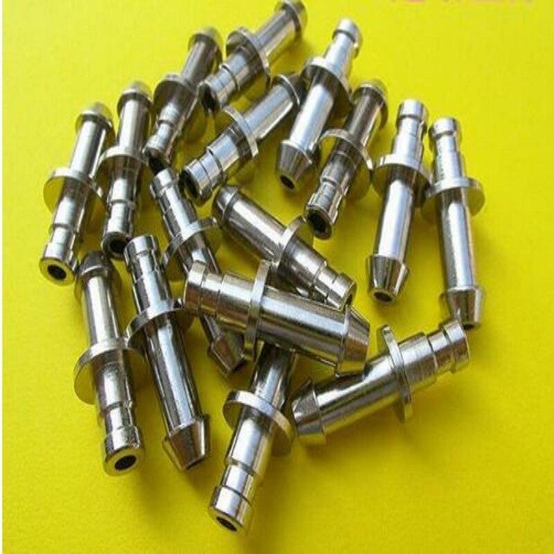 100 pièces/ensemble livraison gratuite NIBP bouchon de manchette tuyau auto-Joint verrouillage ressort NIBP connecteur de manchette connecteur mâle utilisé pour la manchette