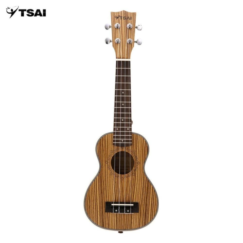 Zebra Ukulele Mini Guitar Ukelele Uke 4 Strings Rosewood Fingerboard Guitar Stringed Musical Instruments 21inch/23inch/26inch Musical Instruments