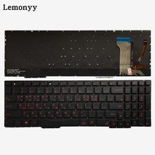 Korea Keyboard Laptop UNTUK ASUS GL553 GL553V GL553VW ZX553VD ZX53V ZX73 FX553VD FX53VD FX753VD FZ53V KR Keyboard dengan Backlit(China)
