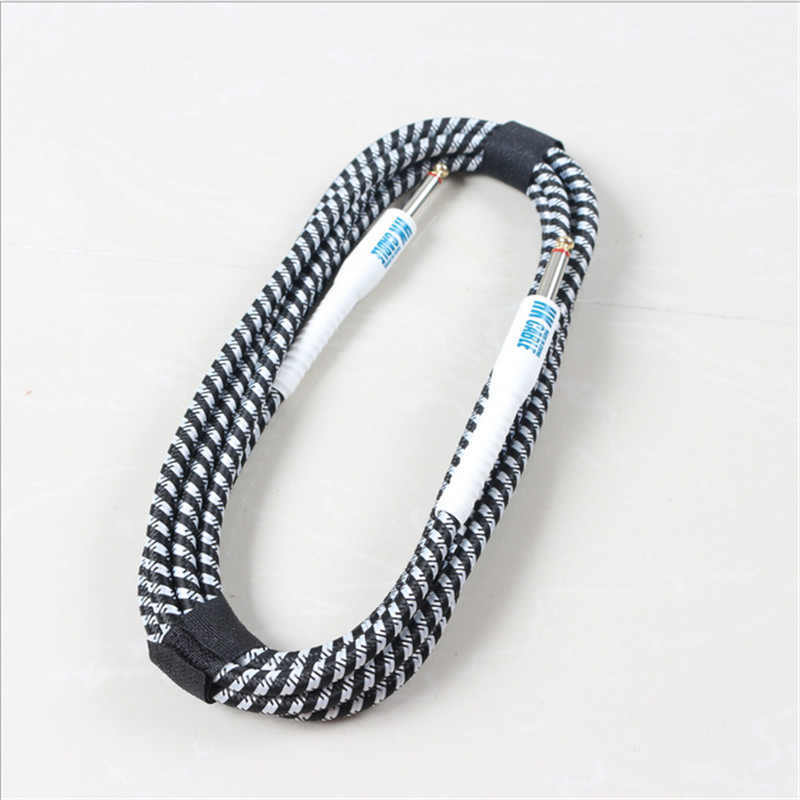 High grade weaving cable noise reduction audio line Oxygen free ...