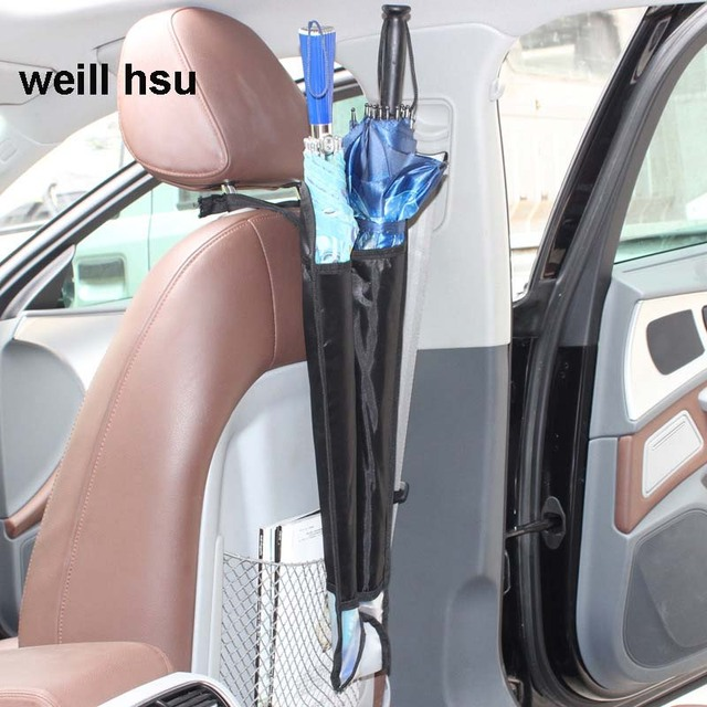 Length 670mm 600D PVC Car Waterproof Rain Umbrella Sets Storage Bags