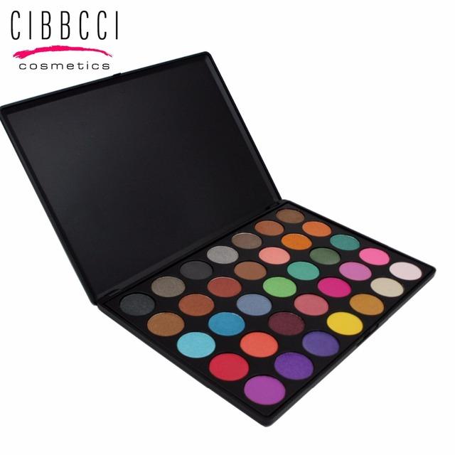 Concurso CIBBCCI 35 Cores Da Sombra de Maquiagem Sombra Palette Comestic Compõem Paleta Da Sombra de Olho Conjunto Kit