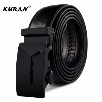 KURAN Designer Luxury Real Leather Men's Belt