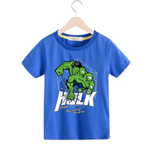 2018 Children Cartoon Hero Printing Tee Tops Costume For Boy Girls Short Sleeves T shirts Kids