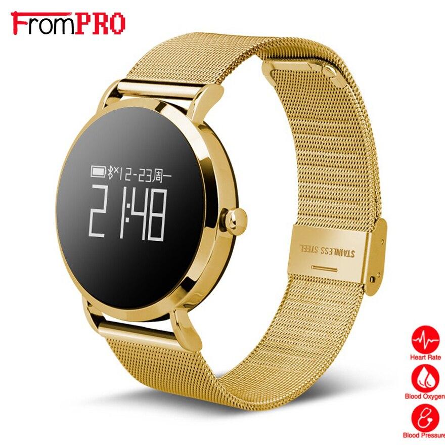 FROMPRO CV08 Smart Bracelet Watch Fashion Bluetooth Sports Pedometer Blood Oxygen Heart Pressure Blood Pressure SPORT Wrist B