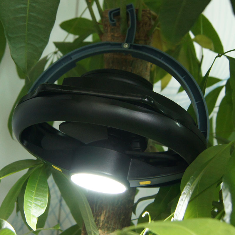 de teto tenda luz lanterna 2-em-1 luzes