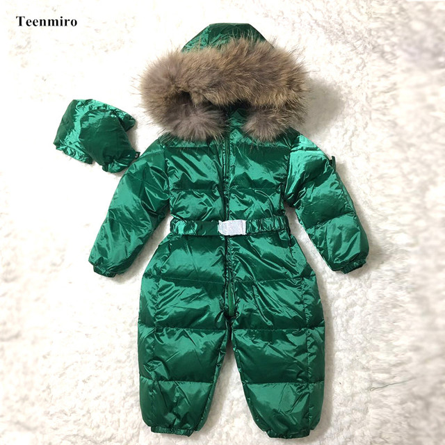 16d52e2c0659 Brand Winter Baby Girl Romper Boys Jumper