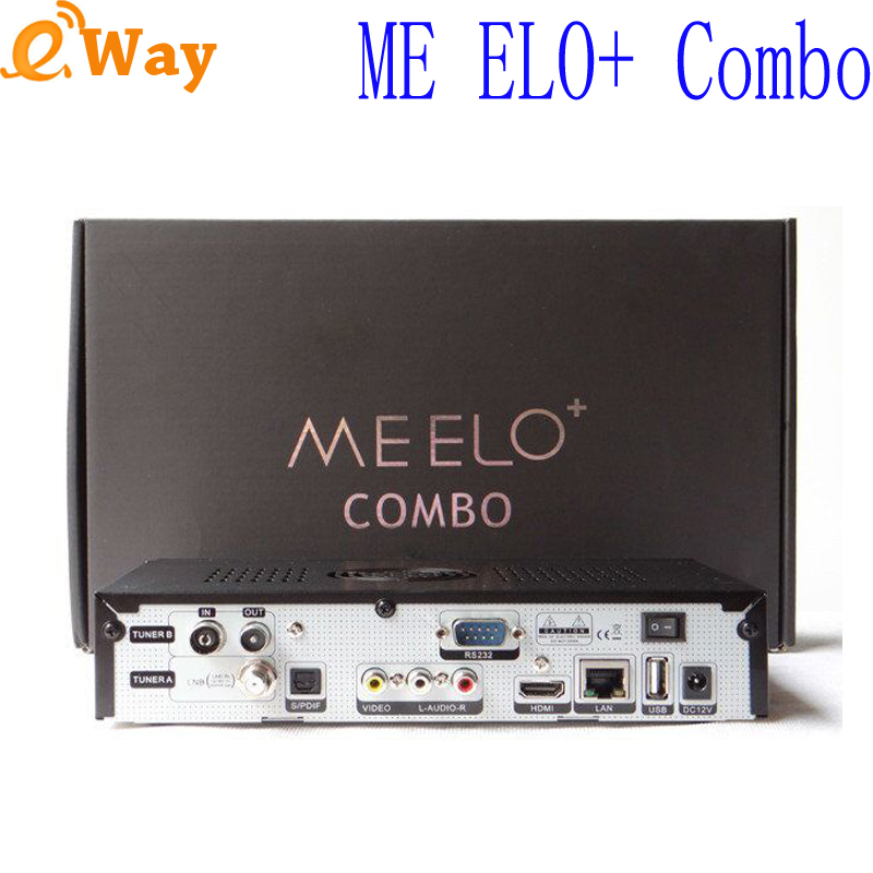ME ELO Combo Satellite TV Receiver 1200MHz Dual DMIPS Processor 4GB Flash 1GB DDR3 DVB S2