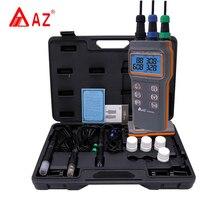 AZ86031 Digital PH Meter Water Quality Meter Dissolved Oxygen Tester PH Meter PH Conductivity Salinity Temperature Meter